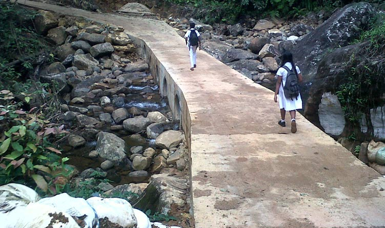Building Access Road and Causeways to Imewatta