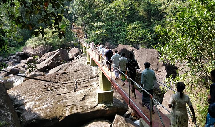 Building a Bridge across MagalGanga at Imewatta